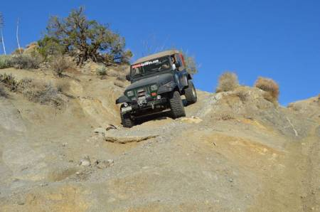 4x4Wire YJ on Heart Attack HIll