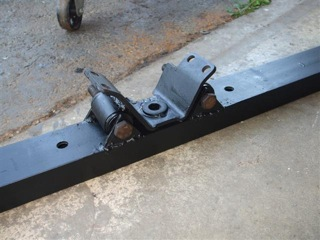 Fabricated transfer case mount