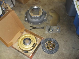 clutch and bellhousing parts